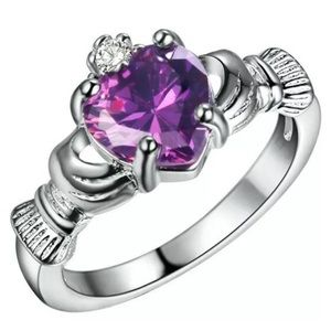 Purple Ring Size 8 NWOT